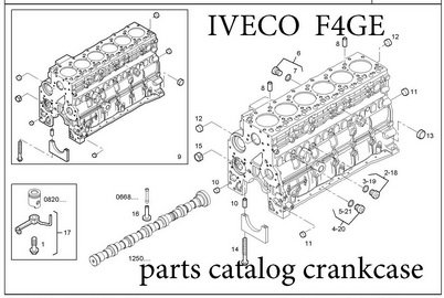 IVECO F4GE, F4HE, F5CE, FVAE engine Manuals & Parts Catalogs