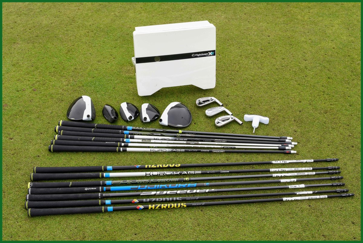 flightscope X2 shafts and heads