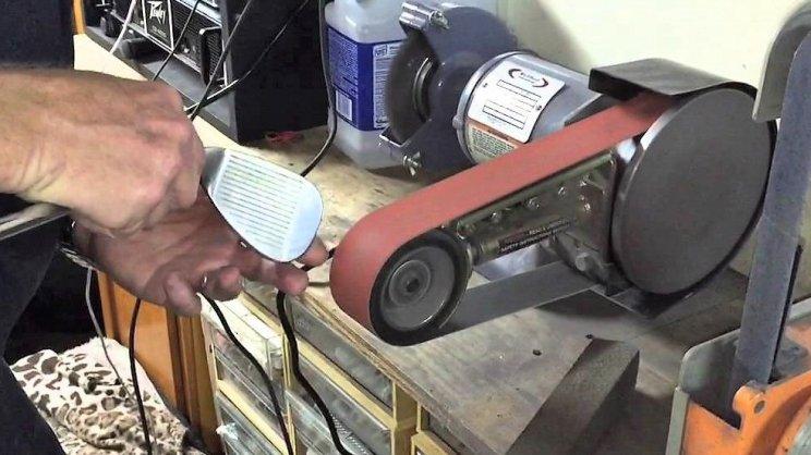 multi tool grinding machine wedge refurbishing damage