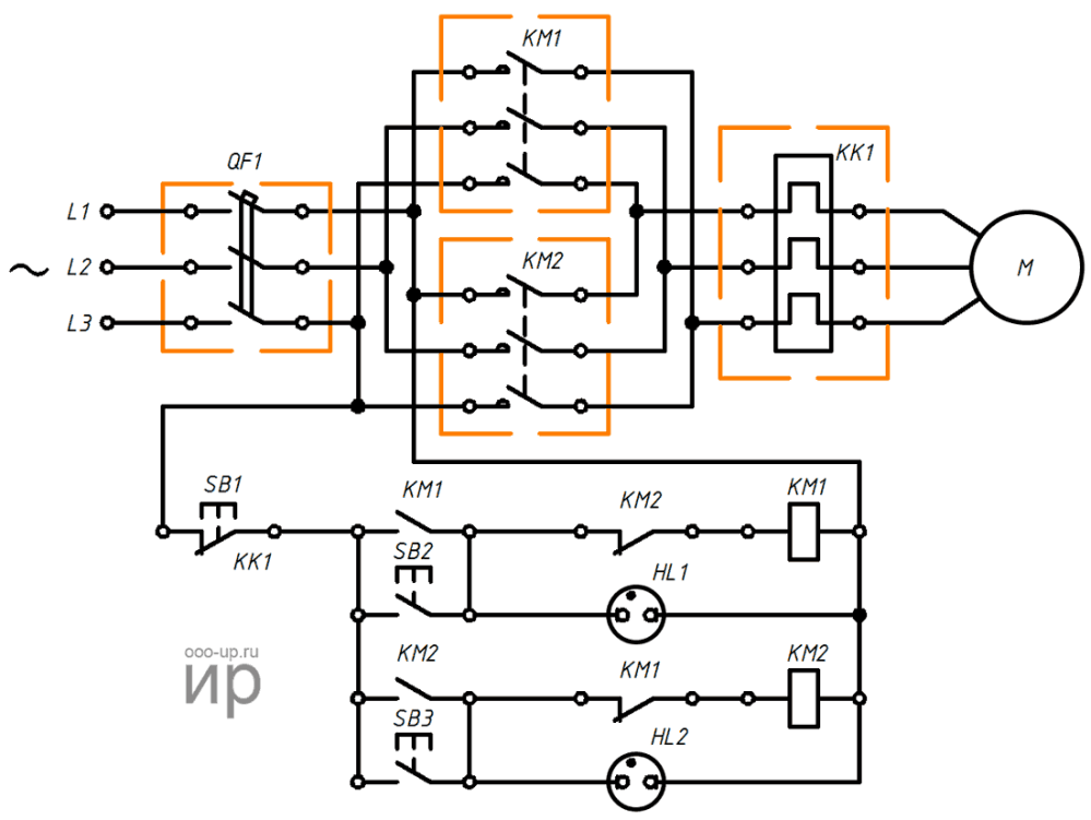 medium resolution of reversing connection a three phase induction motor to a three phase ac power grid