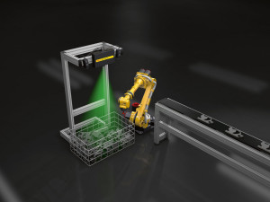 Advanced object recognition and placement using FANUC's 3D Area Sensor