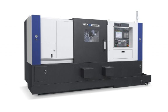 The L2000LSY slant bed CNC lathe