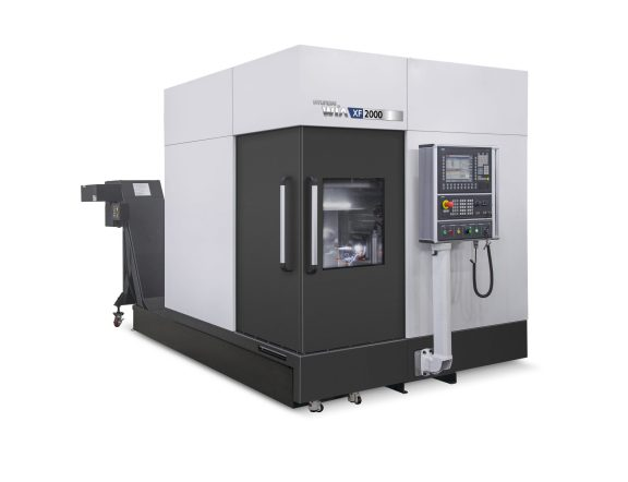 The award winning XF-2000 five-axis vertical machining centre