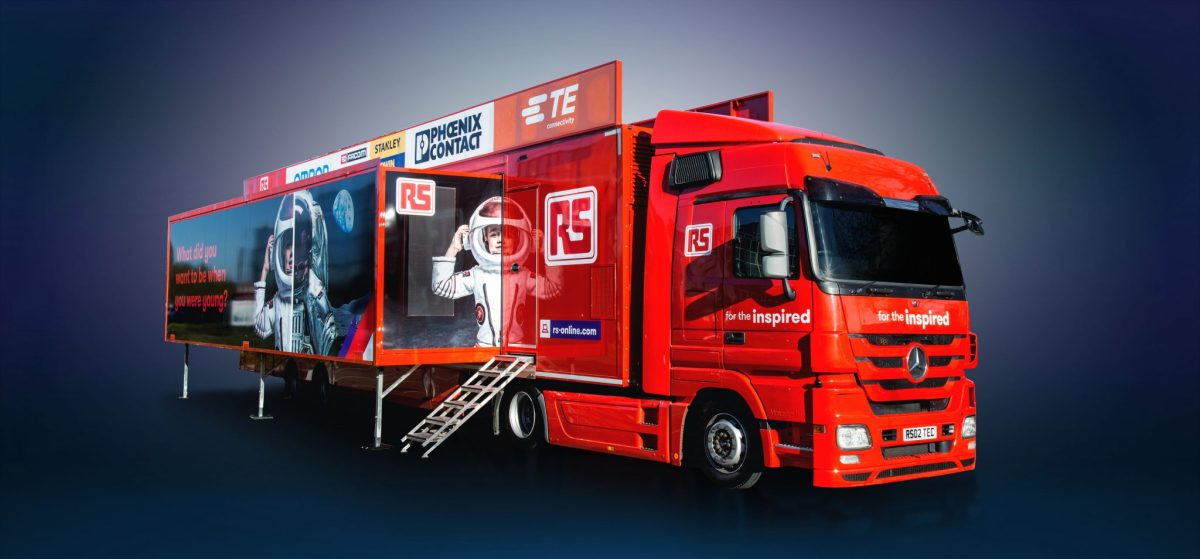 RS Components plays a leading role in the 'electronica Experience' aimed at the next generation of engineers