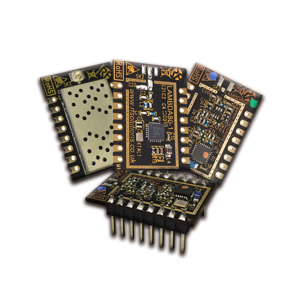 RS Components introduces enhanced LoRa communication modules for IoT applications