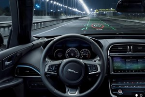 JLR develops immersive 3D head-up display for its vehicles