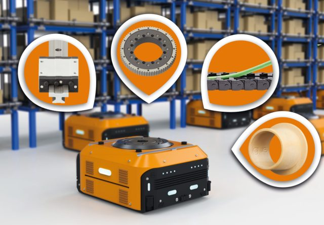How igus makes automated guided vehicles more fail-safe