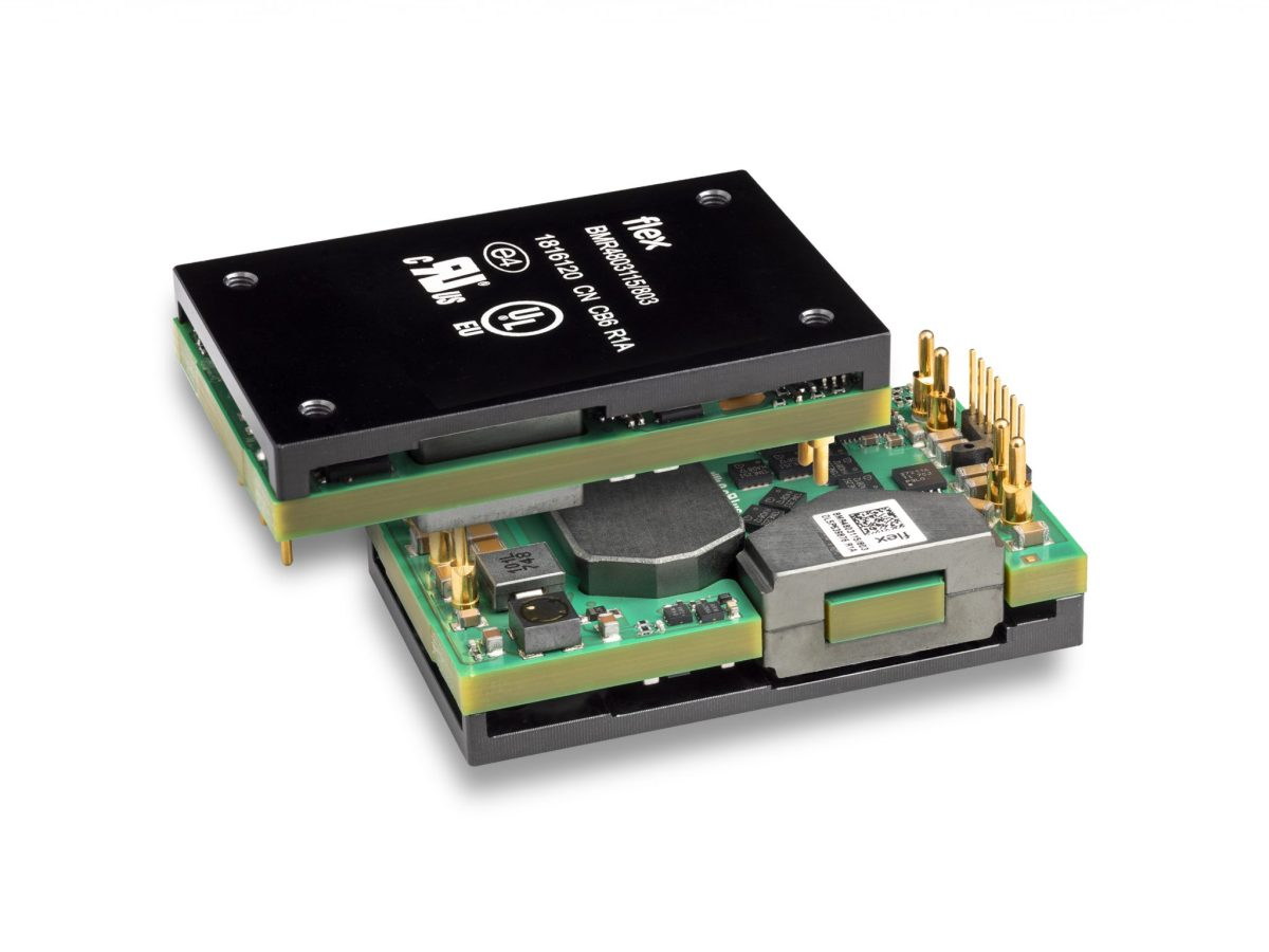 Flex Power Modules adds telecom version to BMR480 DC-DC converter series