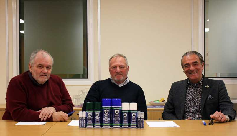 (l-r) John Donnelly, Dave Williams and Kevin Parr