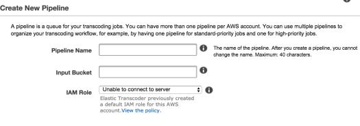 Transcoding Pipeline