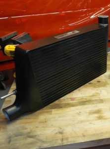 New Mishimoto intercooler prototype