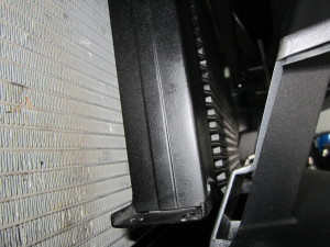 Oil cooler clearance to bumper