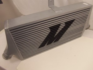 Mishimoto prototype intercooler, front view