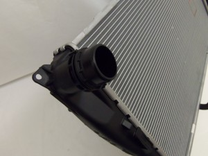 Stock E90 Radiator Inlet
