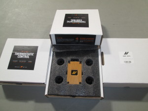 Mishimoto in-line oil thermostat packaging