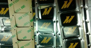 Mishimoto in-line oil thermostat logo