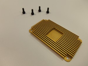 Mishimoto in-line oil thermostat heat-sink