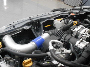 Mishimoto intake pipe fabrication