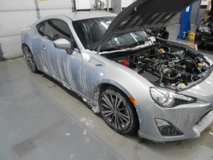 Daily-driven test vehicle, 2013 FR-S