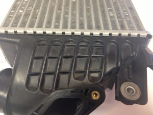 2008-2014 Subaru WRX stock TMIC end-tank