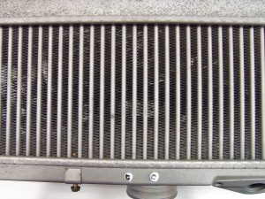 Stock 2008–2014 STI intercooler core, external