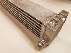Mishimoto prototype oil cooler