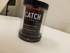 Mishimoto Compact Baffled Catch Can packaged