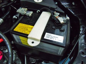 Mishimoto Subaru battery tie-down 3D prototype #2