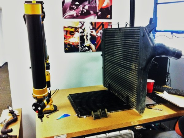 Factory intercooler data collection
