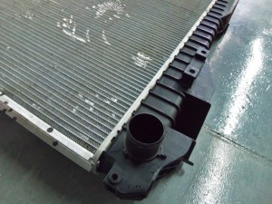 Factory 2010–2012 Dodge 6.7L Cummins radiator end tank