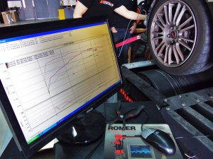 2010 STI on the dyno