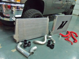 Test truck with Mishimoto prototypes