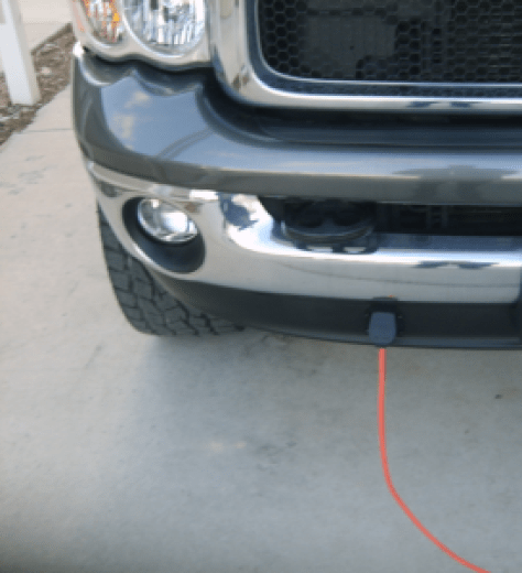 Block heater connection