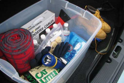 Vehicle emergency kit