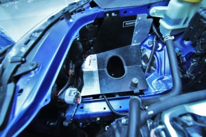Mishimoto intake shroud modification