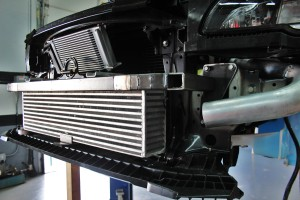 Intercooler crash beam fabrication