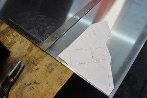 Fabricating the aluminum intercooler end tank