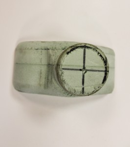 Foam intercooler end tank prototype