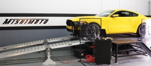EcoBoost Mustang on dyno