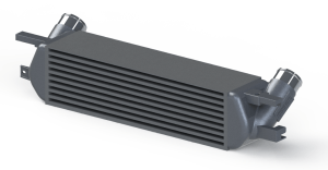 Intercooler 3D prototype rendering