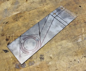 Catch can bracket fabrication