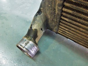 Factory intercooler outlet