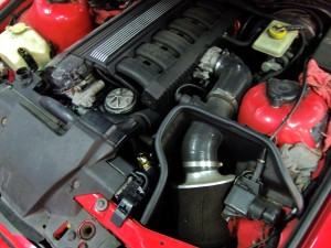 Stock E36 M3 engine bay