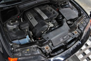 Stock E46 intake system