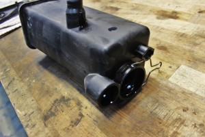 Stock E46 3-series coolant expansion tank