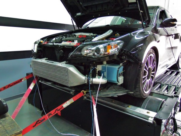 Subaru FMIC intercooler piping