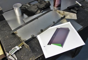 Prototype shroud fabrication