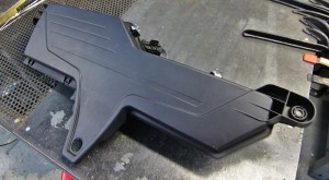Stock upper airbox
