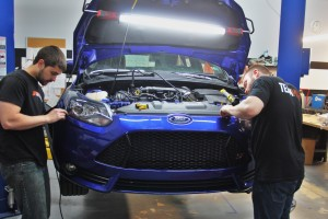 Removing Focus ST bumper
