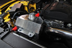 Mishimoto expansion tank prototype modification